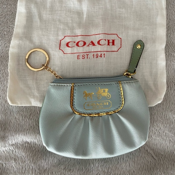 Coach Handbags - Vintage silk coach wallet